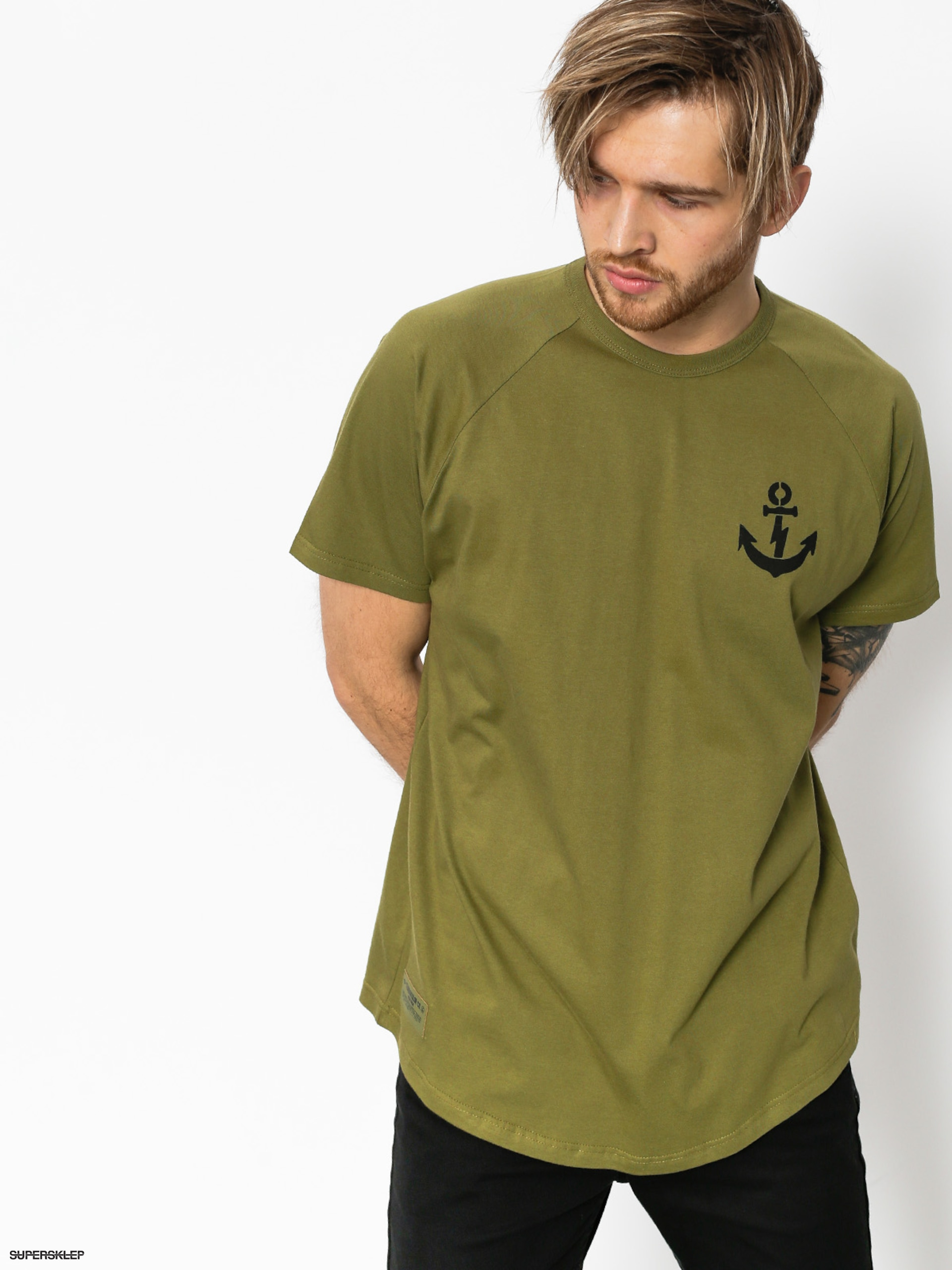 T-shirt Turbokolor Anchor (khaki)