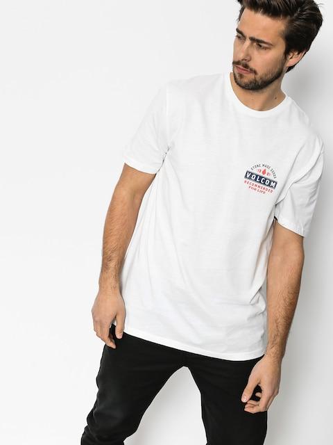 T-shirt Volcom Barred Bsc (wht)