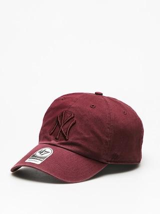 Czapka z daszkiem 47 Brand New York Yankees ZD (dark maroon)