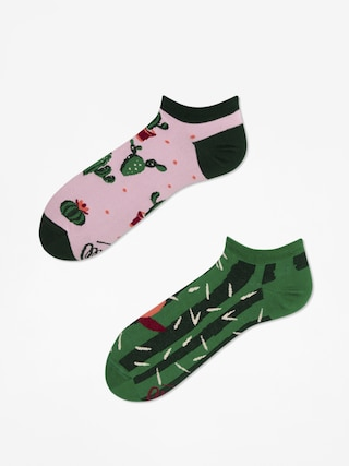 Skarpetki Many Mornings Summer Cactus Low (green/pink)