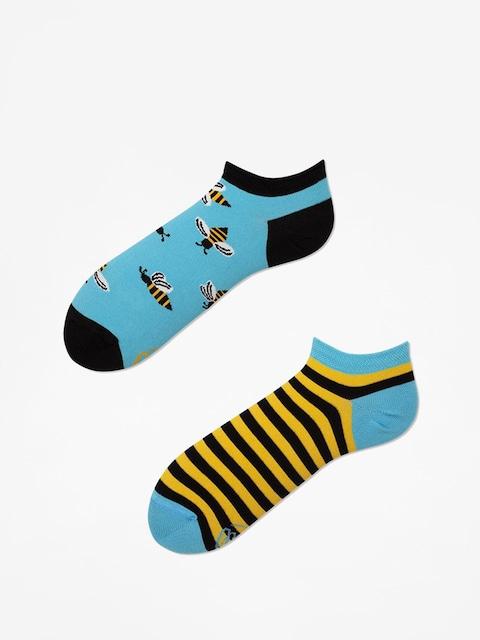 Skarpetki Many Mornings Bee Bee Low (blue/yellow)