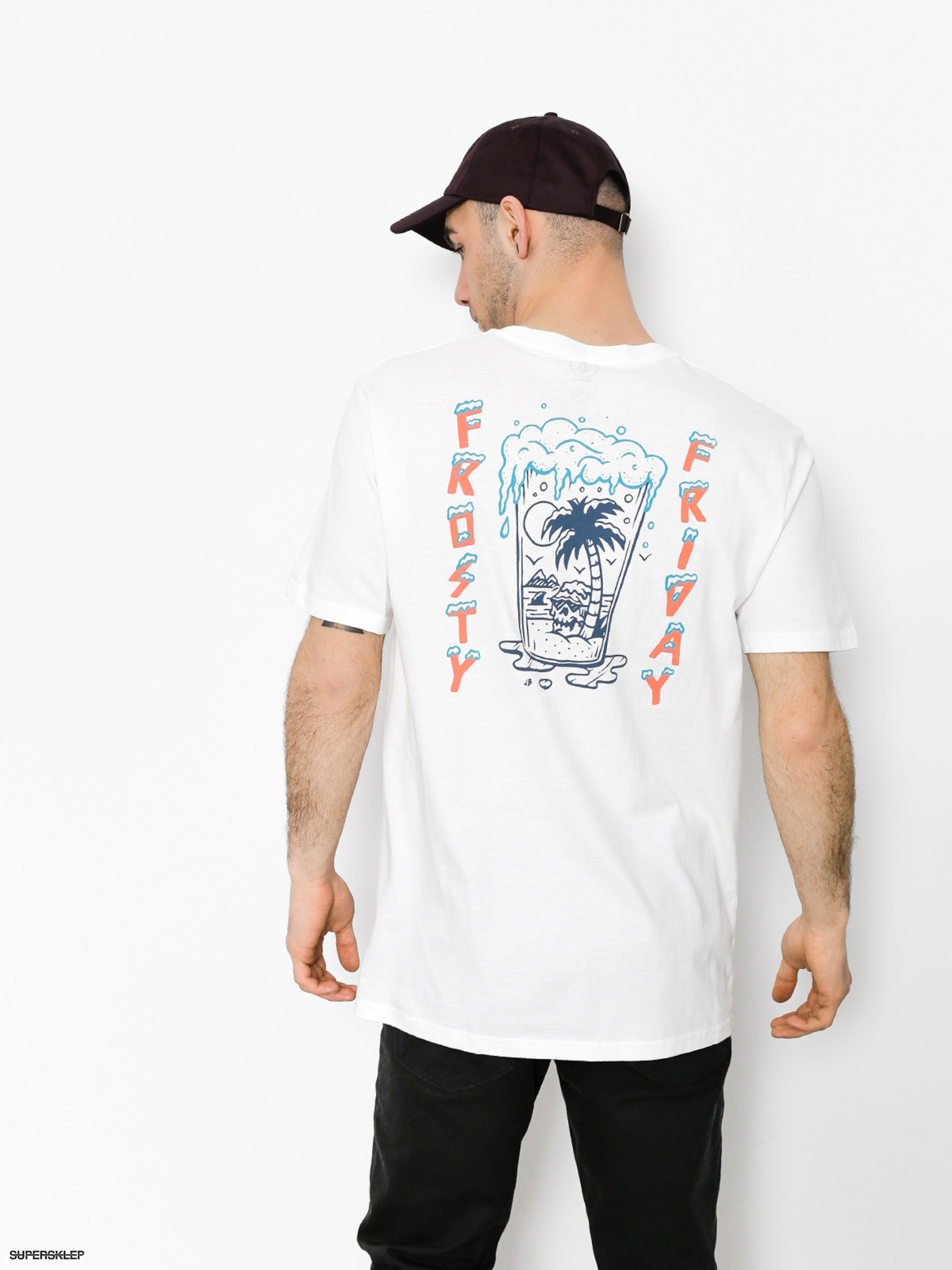 T-shirt Volcom Fridazed Bsc (wht)