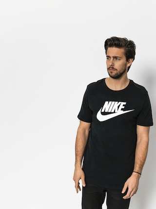 T-shirt Nike Futura Icon (black/black/white)