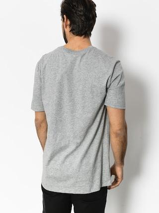 T-shirt Nike Photo Red (dk grey heather/white)