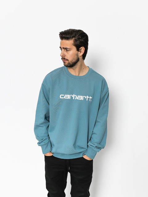 Bluza Carhartt Carhartt (dusty blue/wax)