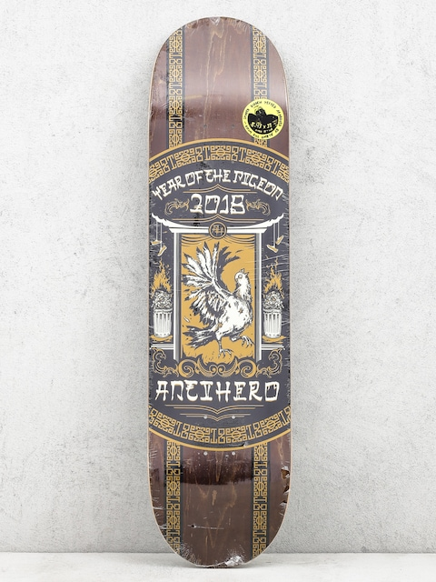 Deck Antihero Year Of The Pigeon (brown)