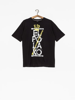 T-shirt El Polako Brush (black)