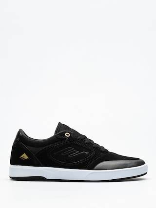 Buty Emerica Dissent (black/white/gold)
