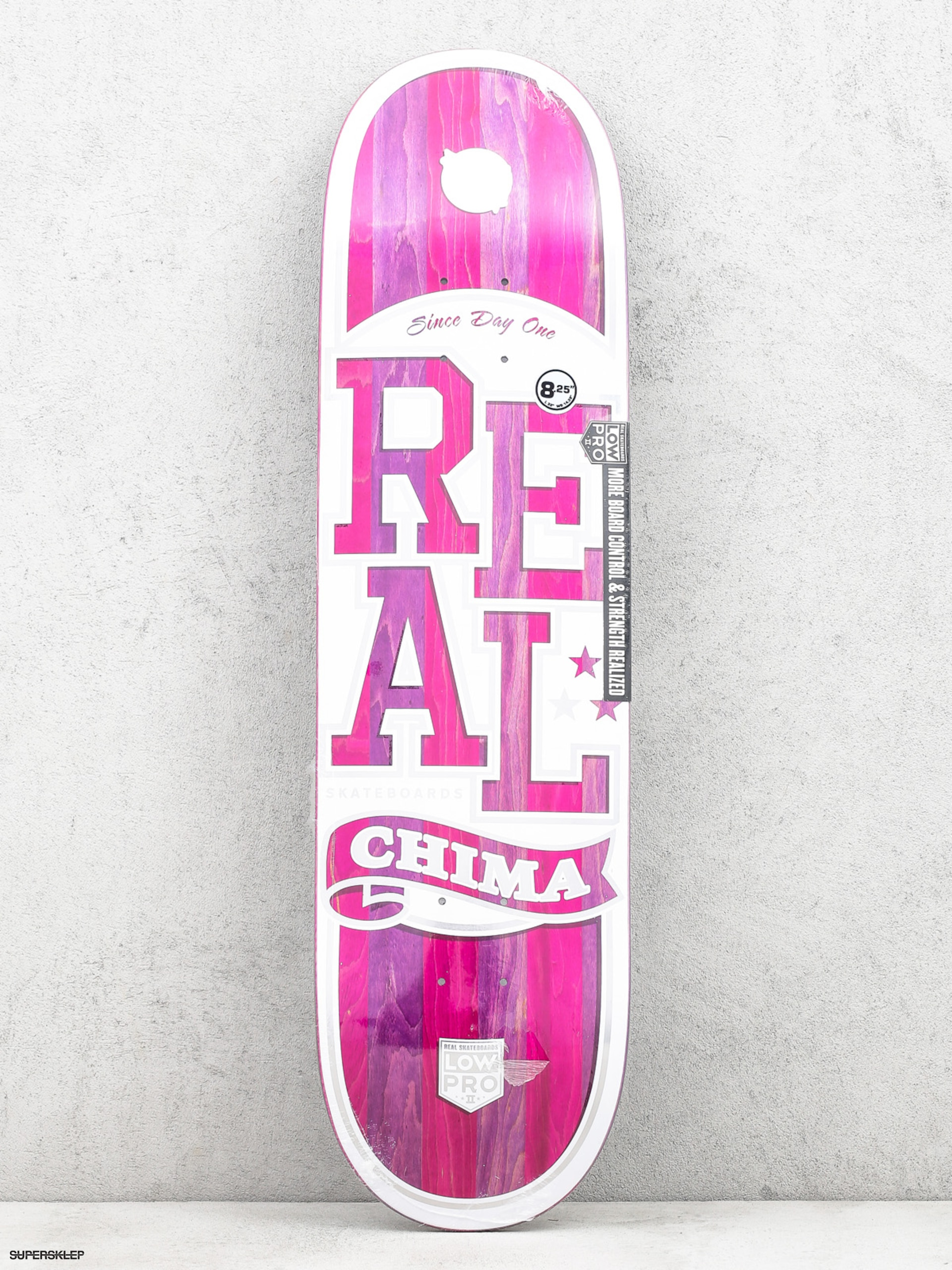 Deck Real Chima Spliced Lpro (white/pink)