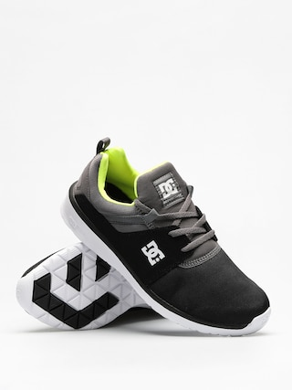 Buty DC Heathrow (black/battleship/lime)