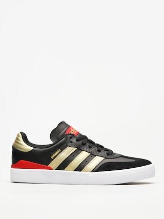 Buty adidas Busenitz Vulc Rx (core black/gold met./scarlet)
