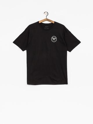 T-shirt Brixton Wheeler II Stnd (black)