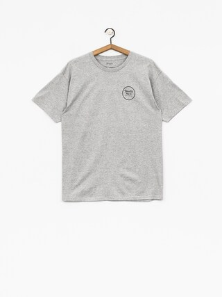 T-shirt Brixton Wheeler II Stnd (heather grey)