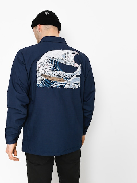 Kurtka RipNDip Great Wave Military (navy blue)