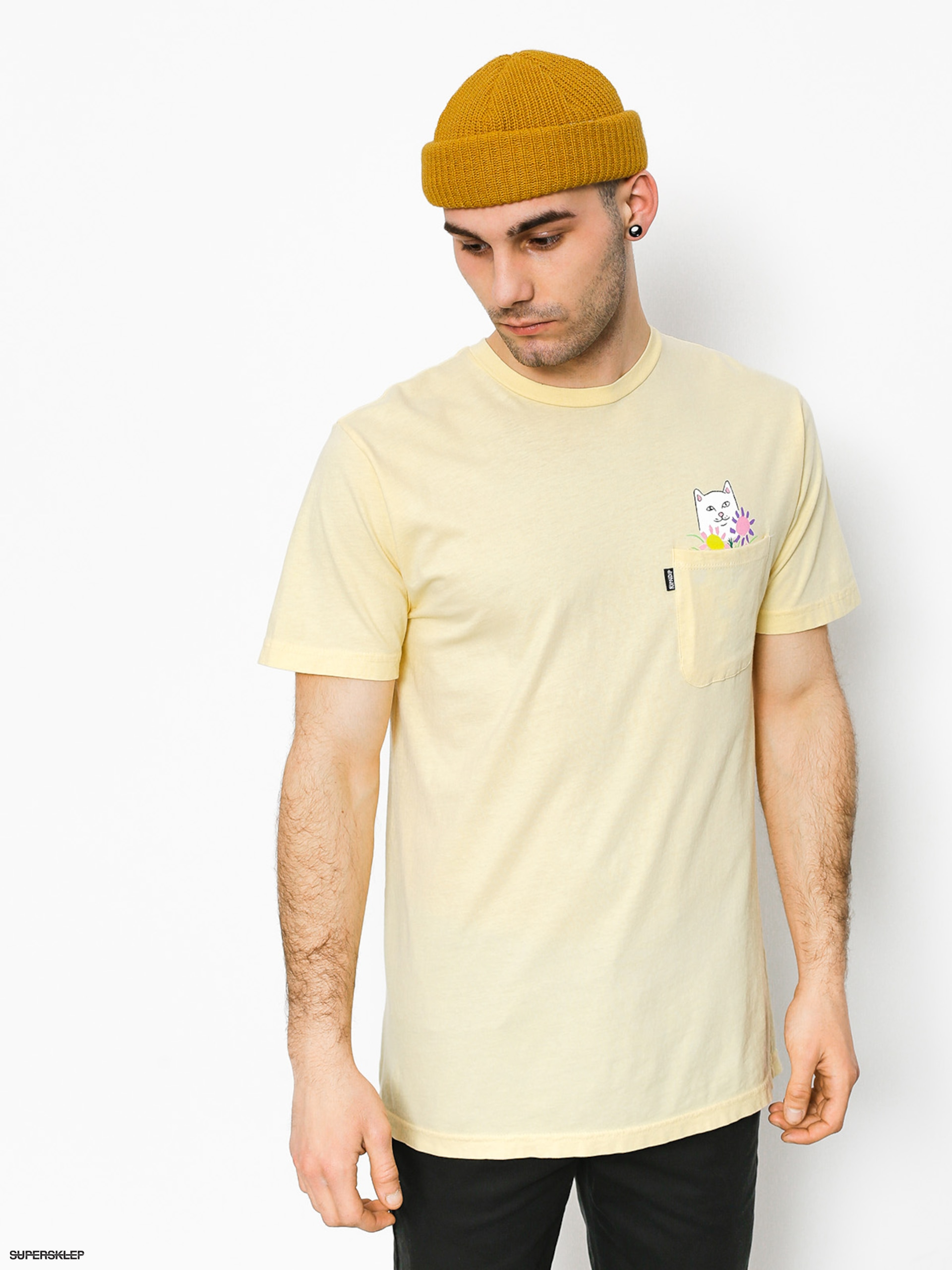 T-shirt RipNDip Nermcasso (yellow)