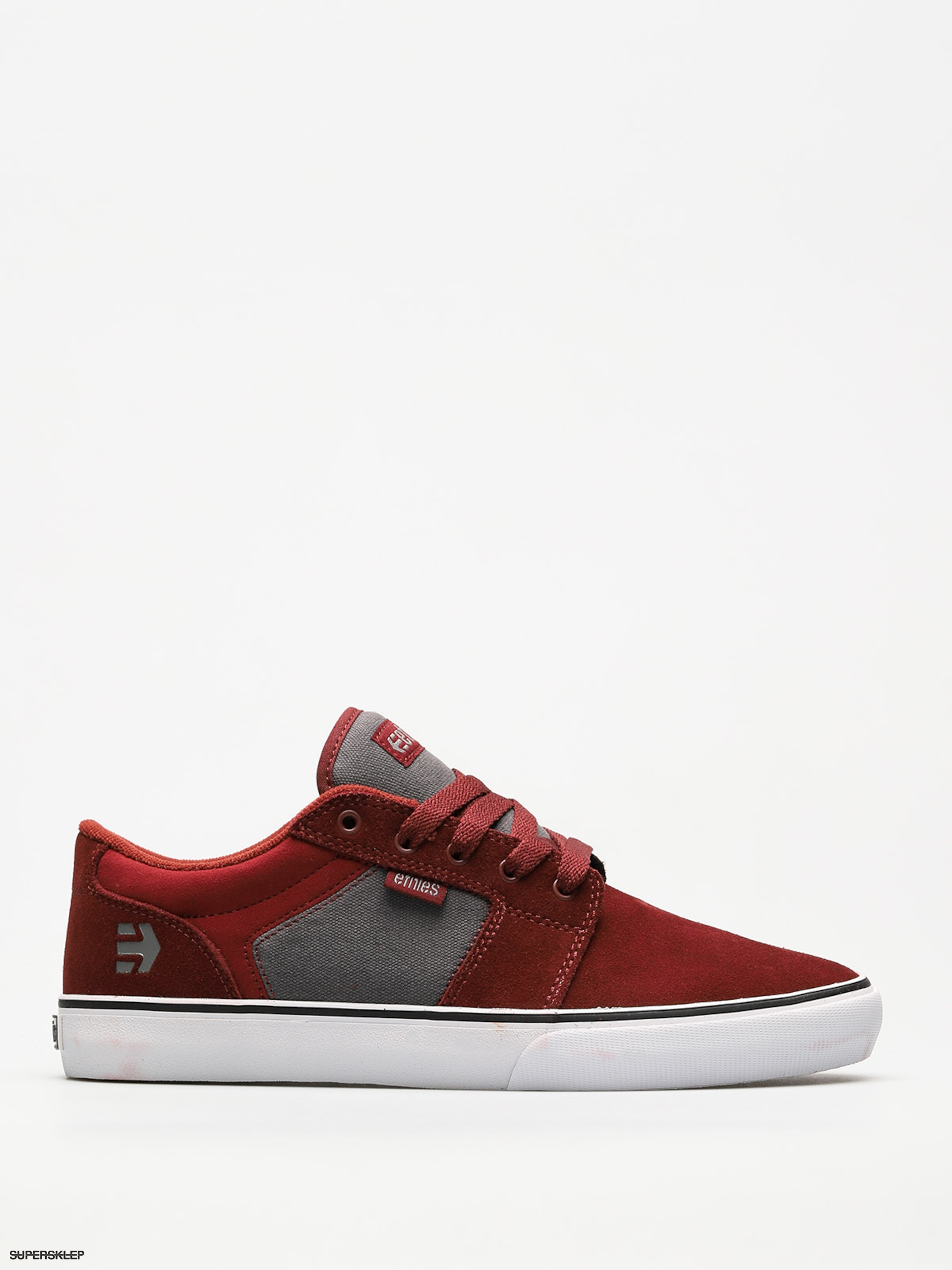 Buty Etnies Barge Ls (red/grey)