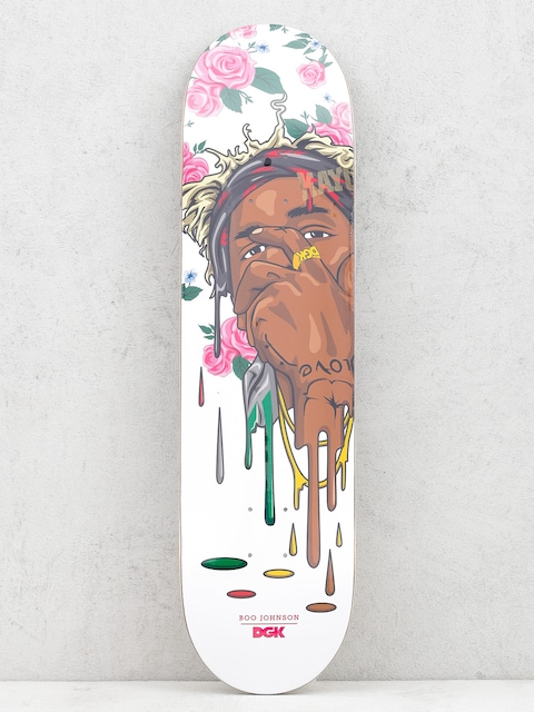 Deck DGK Boo Murked (white/pink/black)