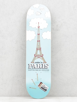 Deck Mob Skateboards Paris (blue)