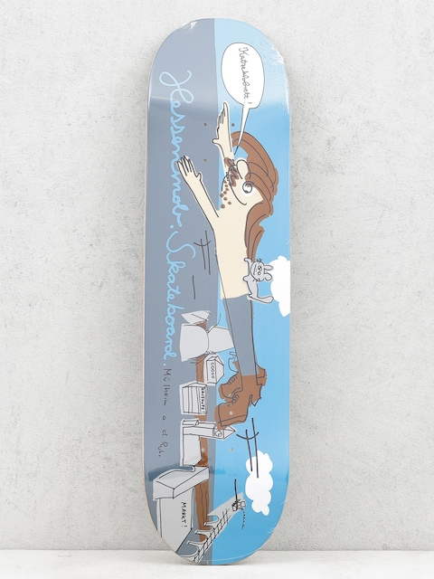 Deck Mob Skateboards Muehlheim (blue/grey)