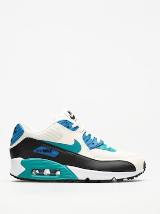 Buty Nike Air Max 90 Wmn (sail/radiant emerald black blue nebula)