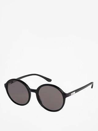 Okulary przeciwsu0142oneczne Roxy Blossom Wmn (shiny black/grey)