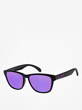 Okulary przeciwsu0142oneczne Roxy Mini Uma Wmn (shiny black/ml purpl)