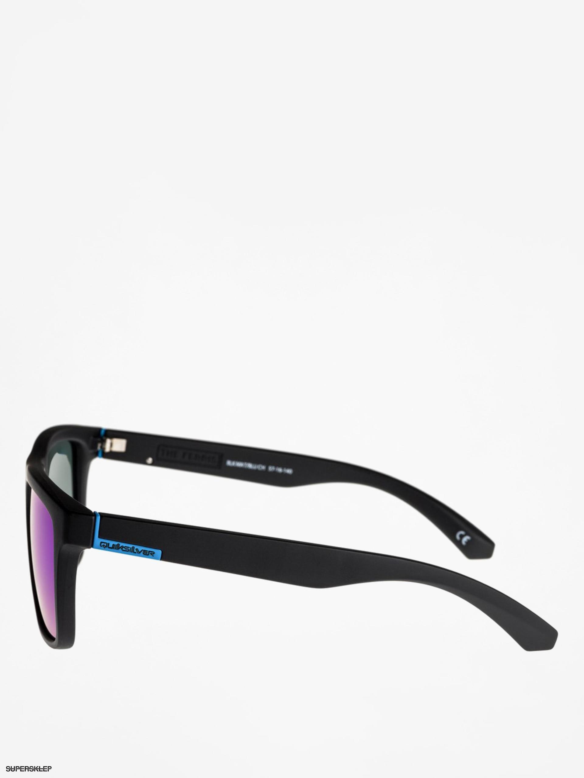 Okulary przeciwsłoneczne Quiksilver The Ferris (blk matblu ch)