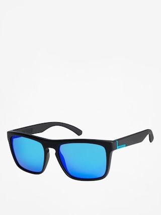 Okulary przeciwsłoneczne Quiksilver The Ferris (blk mat/blu ch)