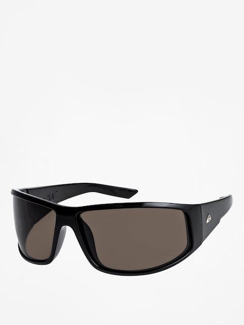 Okulary przeciwsłoneczne Quiksilver Akdk (shiny black/grey)