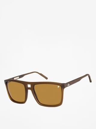 Okulary przeciwsłoneczne Quiksilver Brigade (matte c br/min g p b)