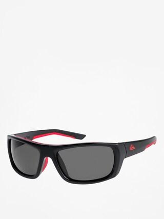 Okulary przeciwsłoneczne Quiksilver Knockout (shiny black red/gre)
