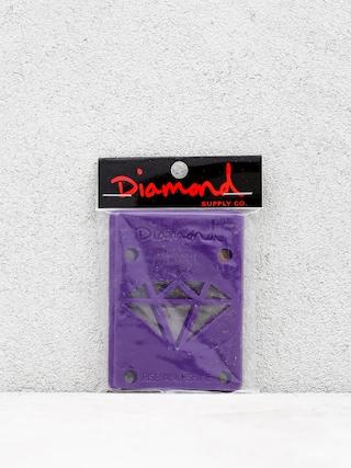 Podkładki Diamond Supply Co. Rise & Shine Risers (purple)