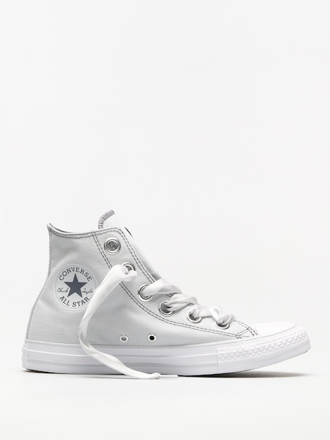 Trampki Converse Chuck Taylor As Big Eyelets Hi Wmn (pure platinum/light carbon)