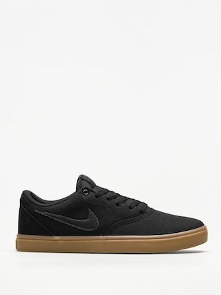 Buty Nike SB Sb Check Solarsoft Canvas (black/black gum light brown)