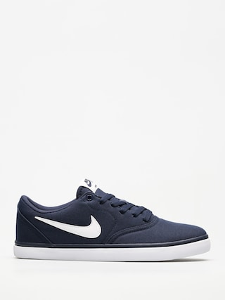 Buty Nike SB Sb Check Solarsoft Canvas (midnight navy/white)