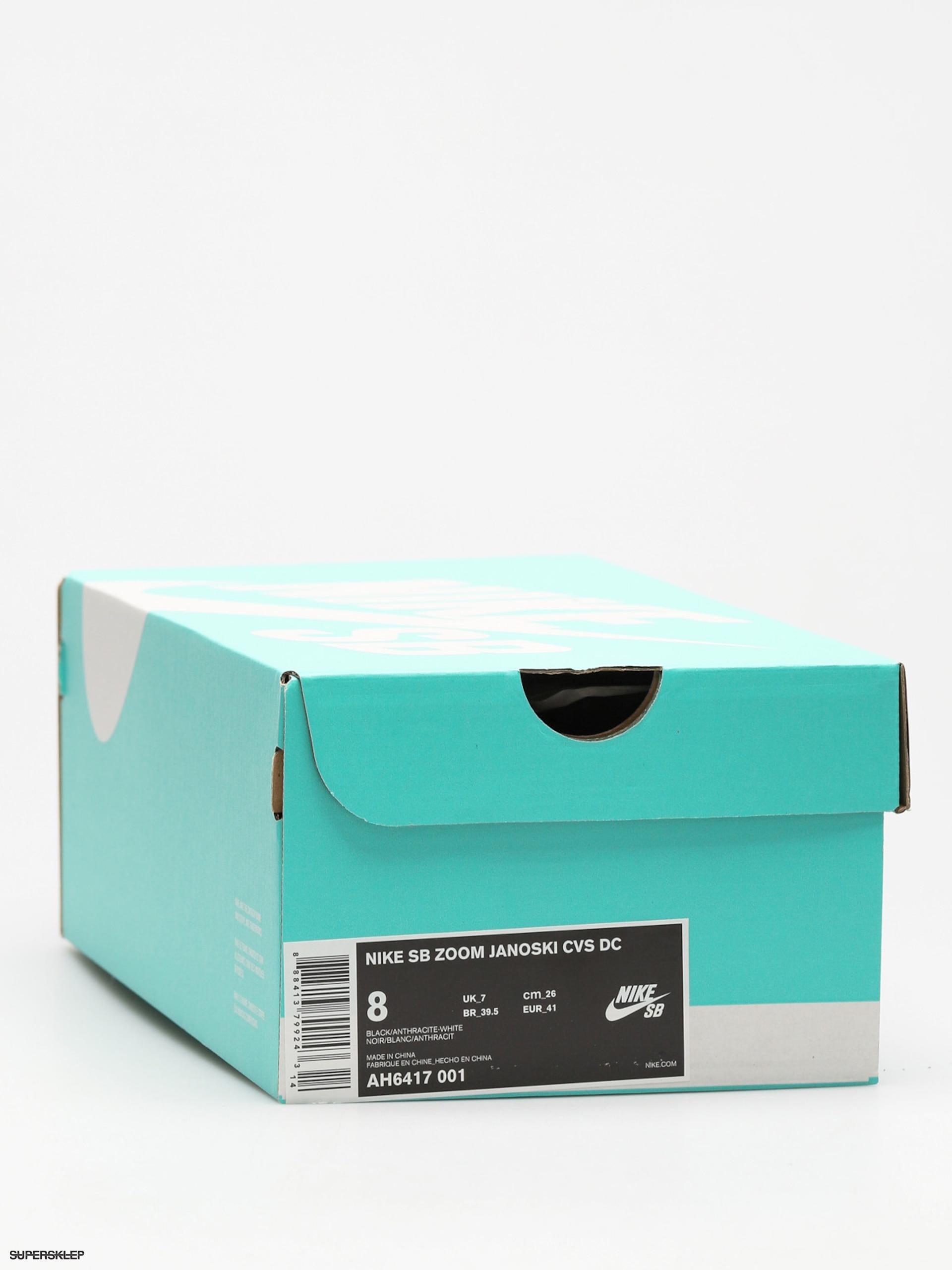 various colors 9b4ae e161f Buty Nike SB Sb Zoom Stefan Janoski Canvas Deconstructed (black anthracite  white hyper royal)