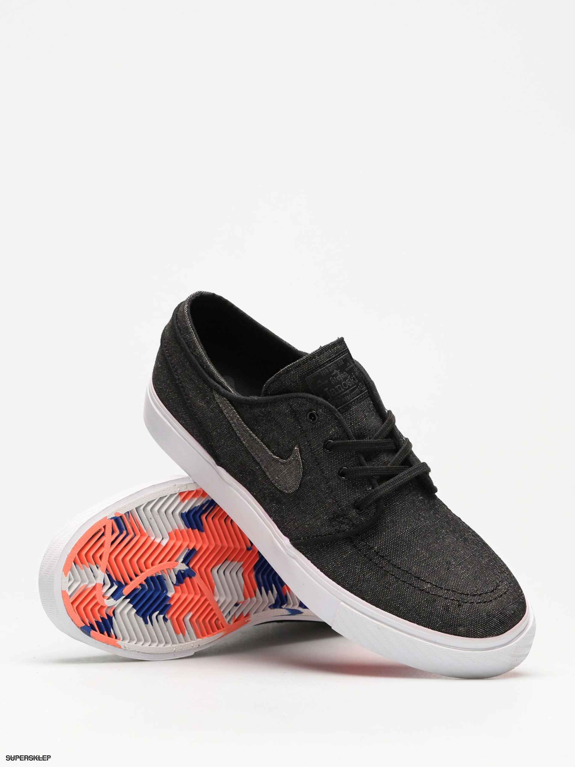 buy popular ebe76 a06d1 Buty Nike SB Sb Zoom Stefan Janoski Canvas Deconstructed (black/anthracite  white hyper royal)