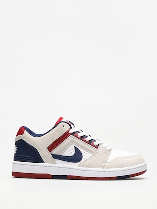 Buty Nike SB Air Force II Low (white/blue void red crush white)