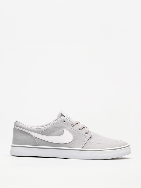 Buty Nike SB Sb Solarsoft Portmore II Canvas (wolf grey/white black)