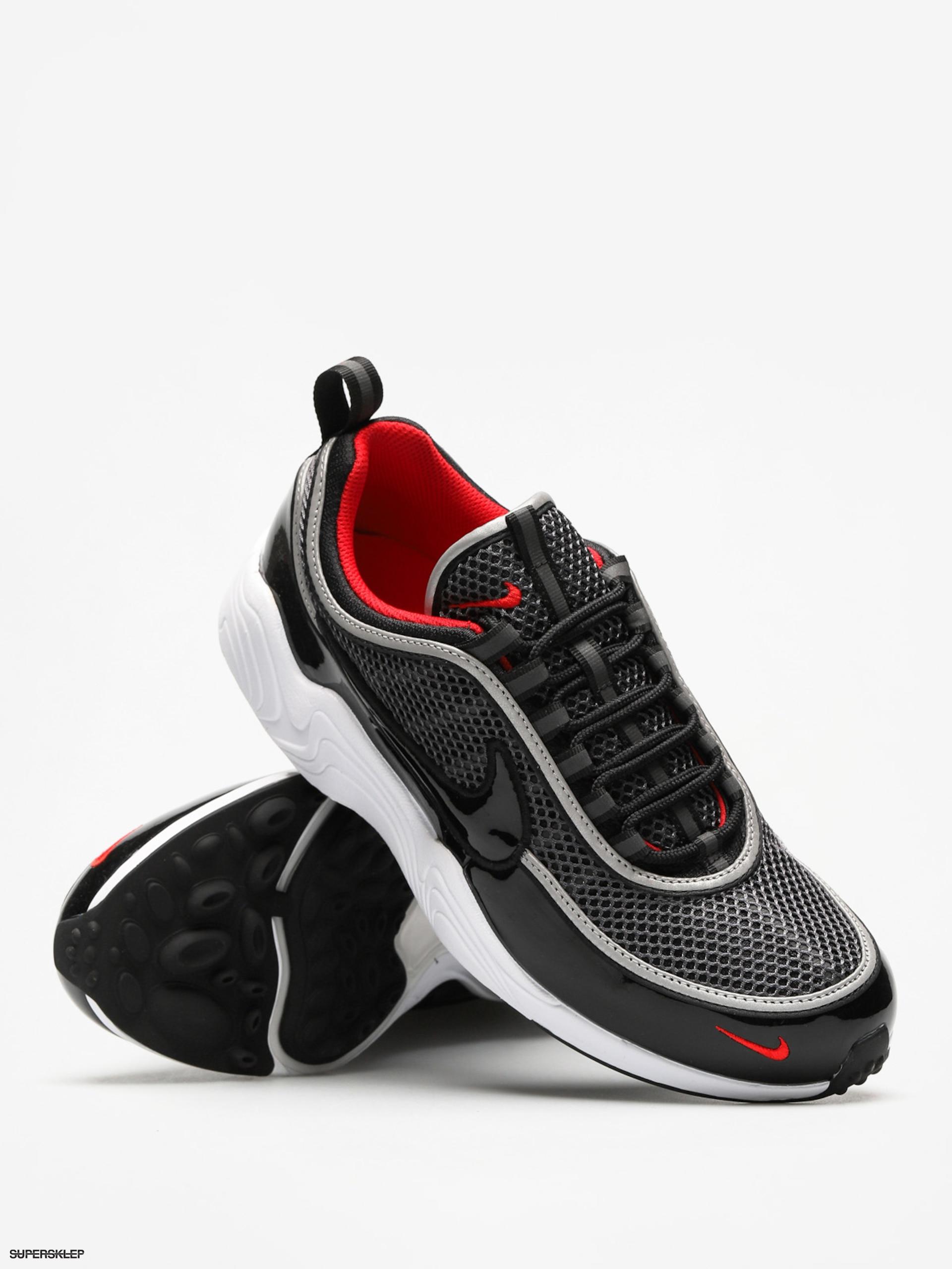 Buty Nike Air Zoom Spiridon 16 (blackblack university red white)