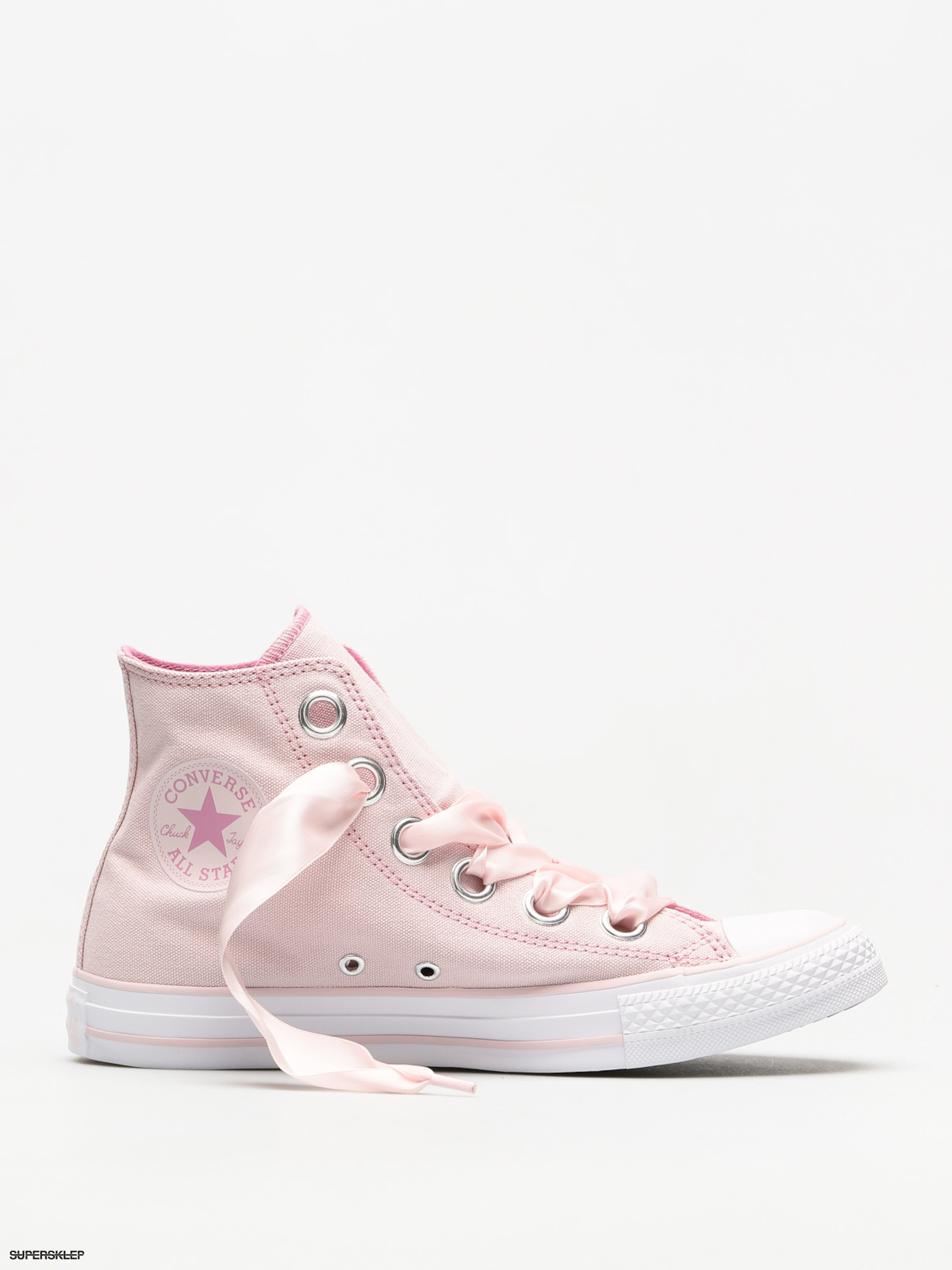 719cc2a917a6 Trampki Converse Chuck Taylor As Big Eyelets Hi Wmn (barely rose light  orchid white)