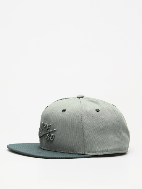Czapka z daszkiem Nike SB Sb Icon Snapback ZD (clay green/deep jungle/clay green)