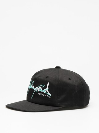Czapka z daszkiem Diamond Supply Co. Cash Script Unstruc ZD (black w/diamond blue)