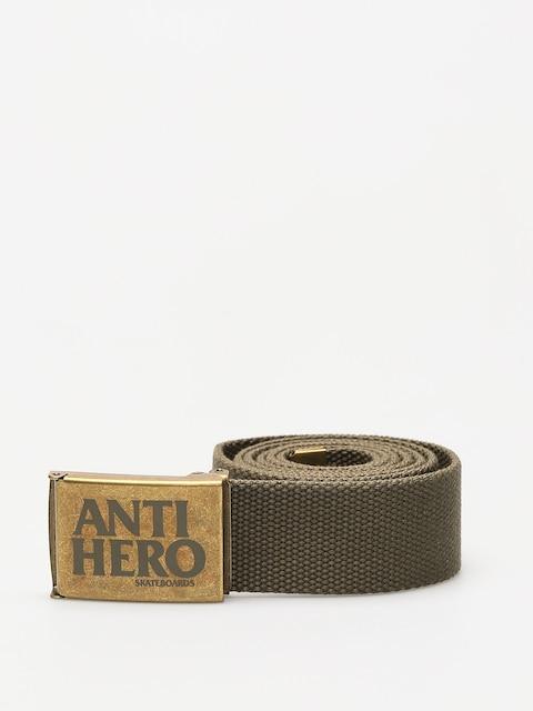 Pasek Antihero Black Hero (bras/army green)