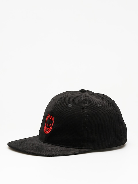 Czapka z daszkiem Spitfire Big Head Snapback ZD (black/red)