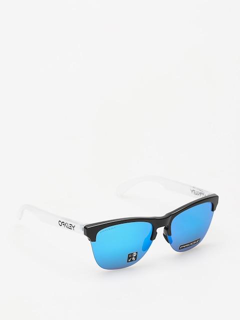 Okulary przeciwsłoneczne Oakley Frogskins Lite (matte black/matte clear/prizm sapphire iridium)