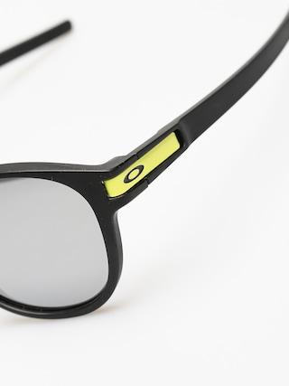Okulary przeciwsłoneczne Oakley Latch (matte black/chrome iridium)