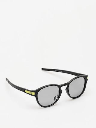Okulary przeciwsu0142oneczne Oakley Latch (matte black/chrome iridium)