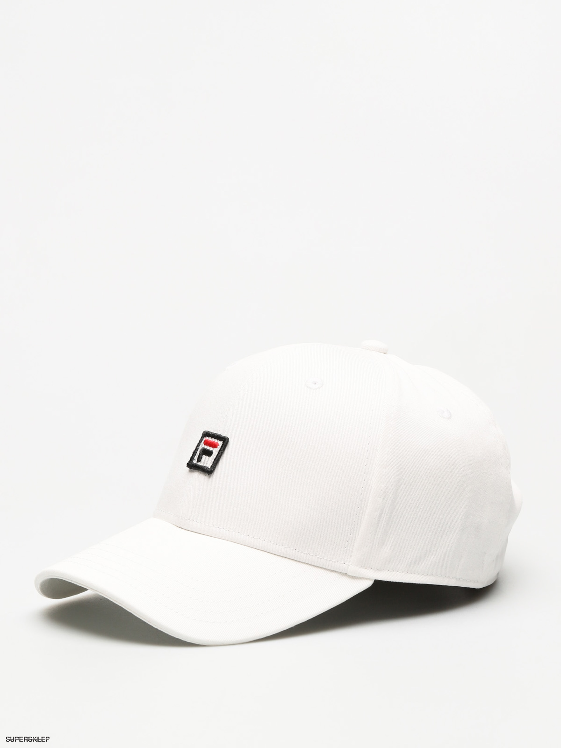 Czapka z daszkiem Fila 6 Panel Strap Back ZD (bright white)