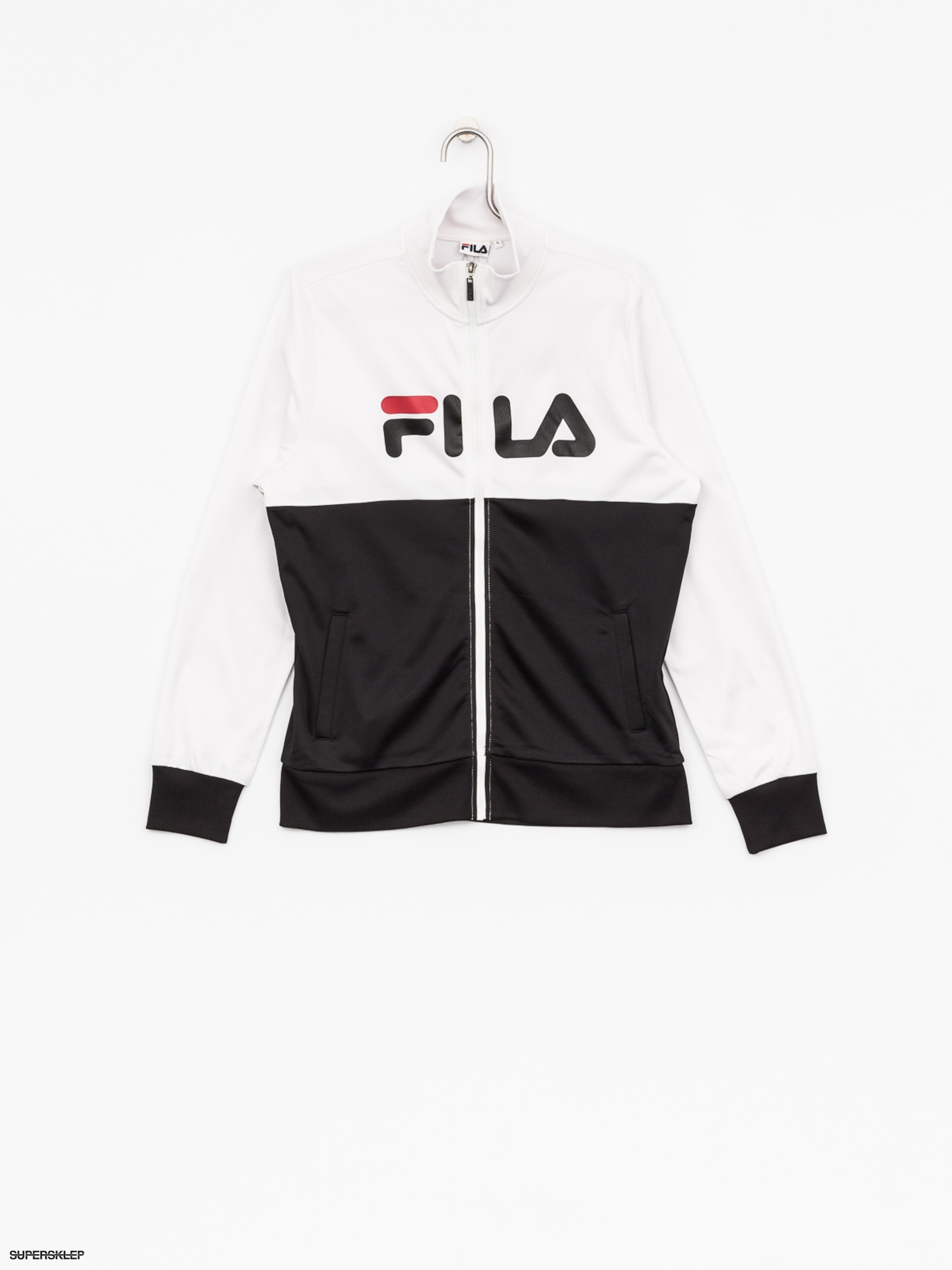 Fila Jacket Track Logan (bright whiteblack)